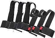 Shoulder Ski Carrier Straps Sling with Cushioned Holder Adjustable Ski Shoulder Lash Handle Straps Snowboard B