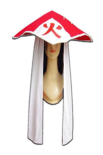 [Naruto Shippuden Cosplay Accessory Sand Village Hokage Gaara Hat] (Naruto Cosplay Costumes Amazon)
