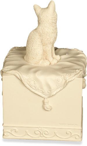 AngelStar 14 Cubic Inch Pet Urn for Cat