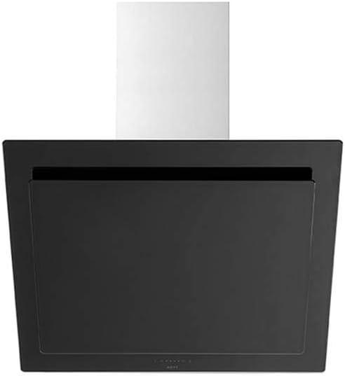 NOVY VISION De pared Negro, Acero inoxidable 788m³/h A+ - Campana (788 m³/h, Canalizado, 62 dB, 35 dB, 43 dB, 51 dB): Amazon.es: Hogar