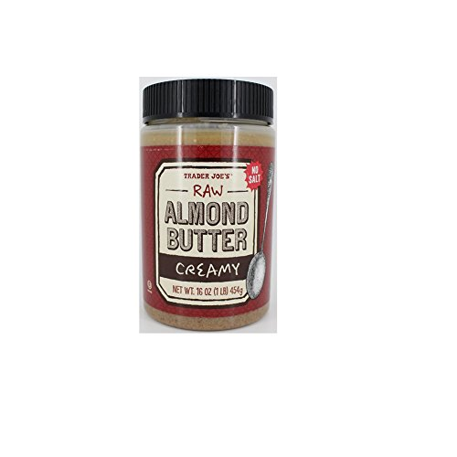 Trader Joe's Raw Almond Butter Creamy Unsalted 16oz