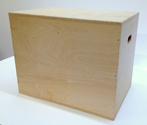 3 in 1 Plyometric Box: 20''x24''x30'' Flatpack by The Plyobox Warehouse