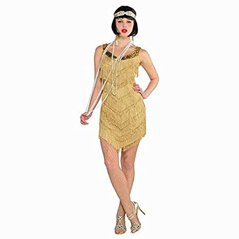 a2c17d66647 Amazon.com  Champagne Flapper Dress