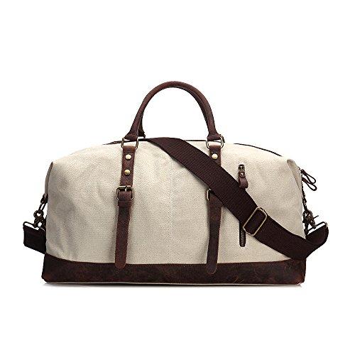 Otomoll Vintage Handbag Bolso De Lona Senderismo Alpinismo Escuela De Equitación Bolso,Deep Blue 55*42*23Cm. Mica 55*42*23cm