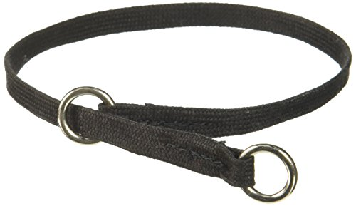Resco Professional Dog Choke Collar, 3/8-Inch Wide x 18 Inches Long, Black (Black Show Dog Collar)