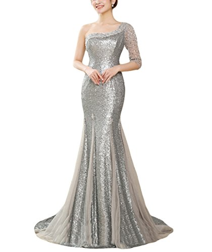 Adrianna Papell Women S 3 4 Sleeve Gown With Lace Bodice