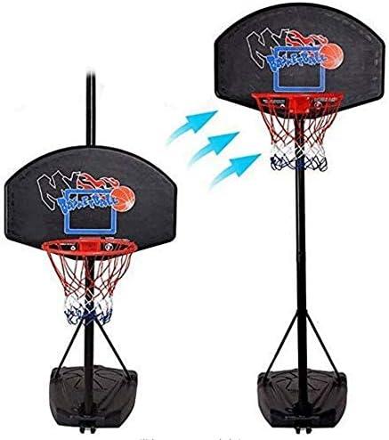 バスケットゴール バスケツトゴール バスケ ゴール ポータブルバスケットボールフープ、ミニバスケットボールフープシステム用のキッズの高さ、調節可能なバスケットボールフープ屋内屋外バスケットボールフープ(EN71テストに合格しました) 室内 屋外用