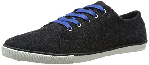 Men's Wool Fashion Sneaker Woolrich Heather Strand Black 4qdxY