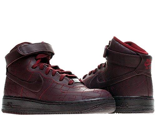 Nike Air Force 1 Hi Fw Qs Kvinnor Basket Skor Djupt Vinröda / Djupt Vinröda