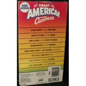 Amazon.com: Great American Cartoons: One Hour: Movies & TV