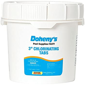 Doheny's 3 Inch Swimming Pool Chlorine Tablets