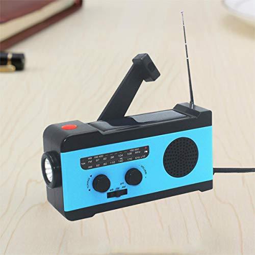 VOSAREA Portable Radio FM Receiver Emergency Radio with Alarm Clock FM Radio FM Receiver by VOSAREA (Image #6)