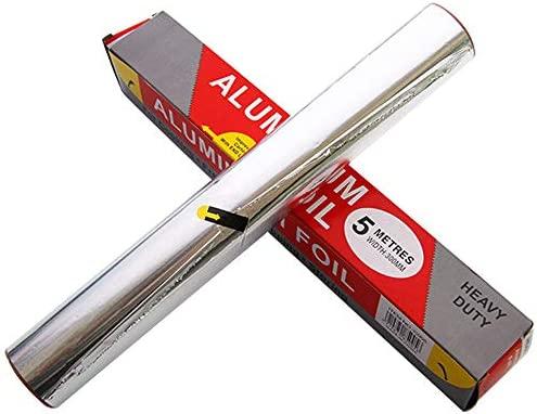 5 m de papel de aluminio, utensilios de horneado, lámina para ...