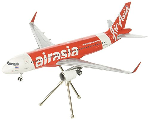 (GEMINI Gemini200 Thai Air Asia A320-200 (S) Sharklets Hs-Bbh 1:200 Scale Airplane Model)