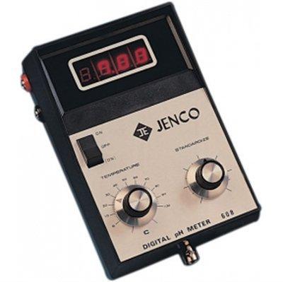 608 - Handheld Meter with Red LED Display - Handheld pH Meter with LED Display, Jenco - Each
