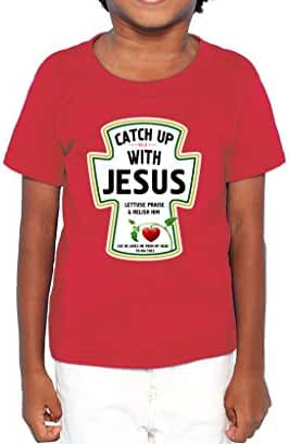 The T-shirt Press Catch Up With Jesus Shirt
