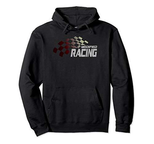 Modified Racing Hoodie Dirt Track Racing Shirt Speedway ()