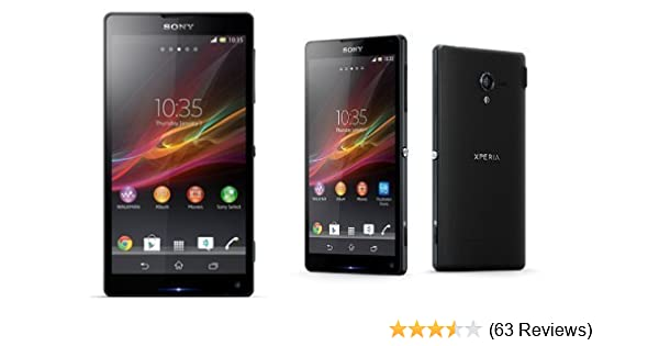 Sony Xperia ZL C6502 Unlocked Android Phone--US Warranty (Black)