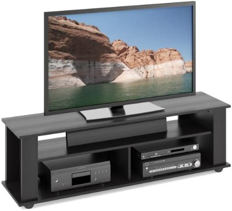 CorLiving Bakersfield TV Stand, Ravenwood Black