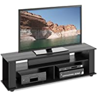 CorLiving TBF-605-B Bakersfield Ravenwood TV/Component Stand, Black