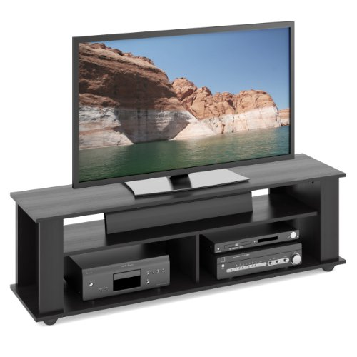 CorLiving TBF-605-B Bakersfield Ravenwood TV/Component Stand, (Bakersfield Collection)