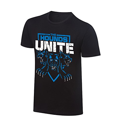WWE Authentic Wear WWE The Shield Hounds Unite Special Edition T-Shirt Black Medium by WWE Authentic Wear