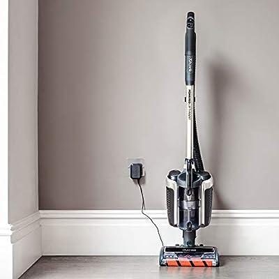 Shark Vacuum Cleaner Aspiradora Vertical sin Cable, Pelo de Mascotas, Elevador eléctrico, Batería Doble, Blanco y Negro: Amazon.es: Hogar