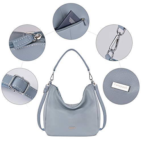 Purse Bag Bag Hobo PU Women��s Handle Fanspack Shoulder Top Crossbody Leather Handbags qv0U1