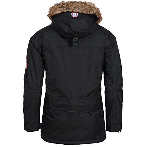 Geographical Norway ATLAS 1 MEN Parka Veste Homme Bleu GEOGRAPHICAL NORWAY