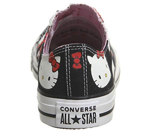 Converse blanc Hello Ctas Kitty Noir Adulte Mode Hi Baskets Mixte Core PSqgF