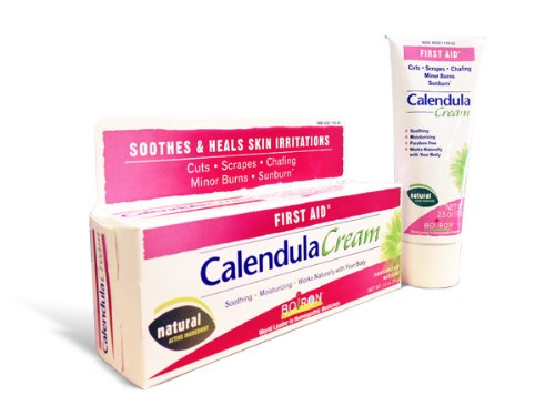Boiron Calendula Cream, 2.5 Ounces, Topical First Aid Cream