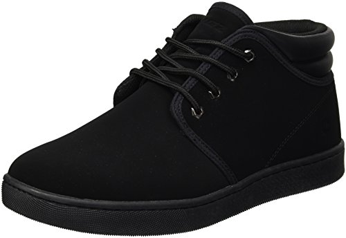 Lugz Men's Coal Mid Lx Sneaker, Black, 6.5 D - Mid Top Skate Shoe