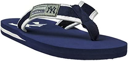 Forever Collectibles MLB Mens Locker Label Contour Flip - Flop Size X-Large Pick Team - New York Yankees