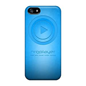 Awesome Case Cover/iphone 5/5s Defender Case Cover(nrg Player Blue Wall)