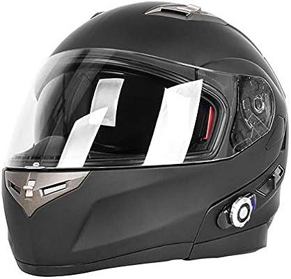 Casco para motocicleta, casco de seguridad de cara completa para ...