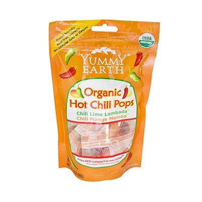 Yummy Earth Organic Hot Chili Lollipops - 3 Oz (Pack of 6)