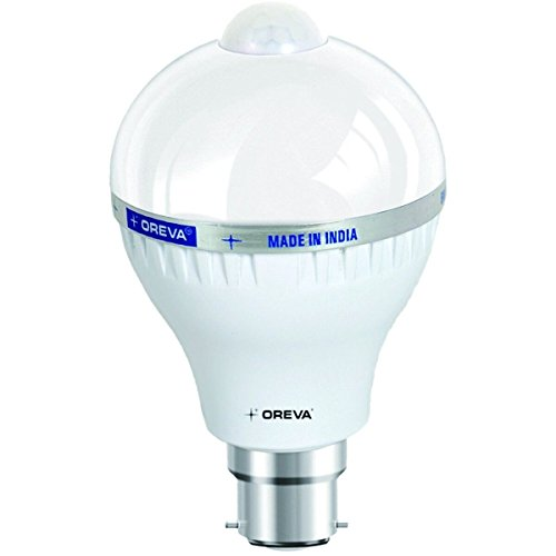 Oreva 6W Sensor Base B22 6-Watt LED Bulb (White)