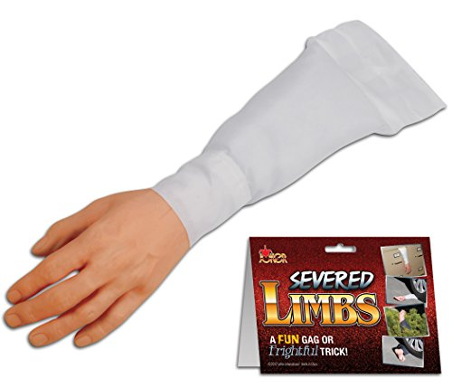 Loftus International Joker Surprising Realistic Severed Arm Decoration Prop White Novelty Item -