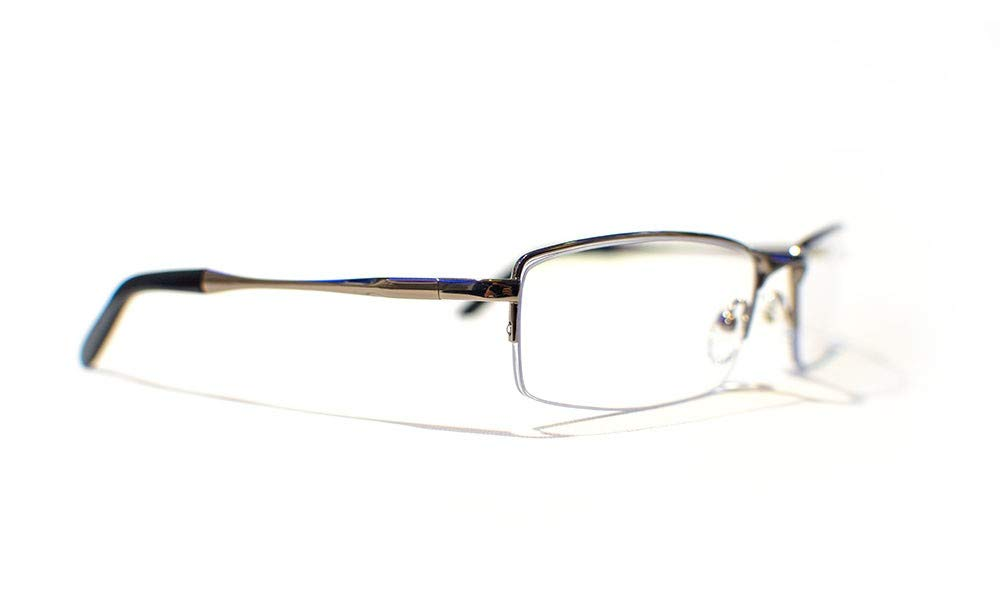 Steichen Optics White Phoenix Lunette Anti-Fatigue pour Moniteur PC Noir