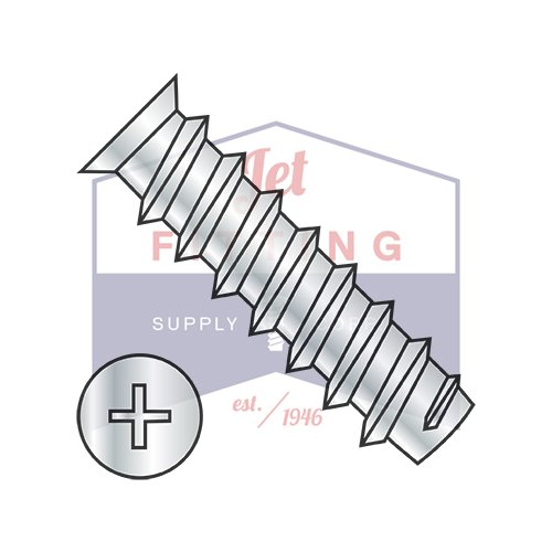 M6.3X13 European Drawer Slide Screw | Metric Phillips Flat 7.0-7.3Hd Od |Full Thread | Steel | Zinc Bake (QUANTITY: 7000)