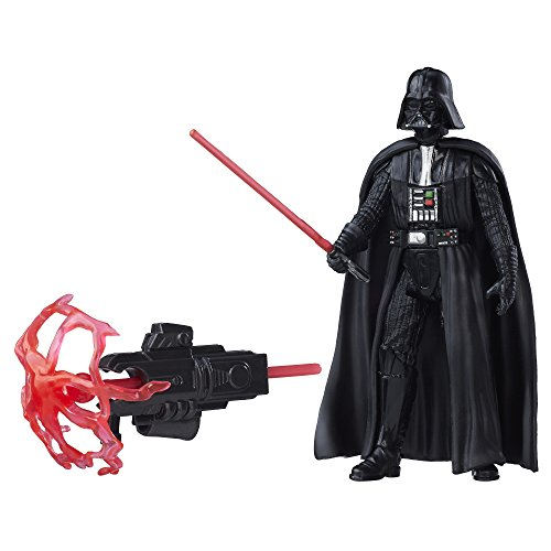 Star Wars Rogue One Darth Vader Action Figure - Projectile Firing (Wars Star Figures Vadar Darth)