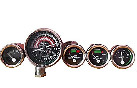 amazon gauges kit fits massey ferguson tractor gauge kit 135 MF Gauges gauges kit fits massey ferguson tractor gauge kit tachometer anti clockwise 35 133 135 140