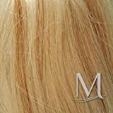 Hannah Monana color BLONDE W/STREAKS - Enigma Wigs Miley Long Straight Cyrus with Streaks Bundle w/Cap, MaxWigs Costume Wig Care Guide