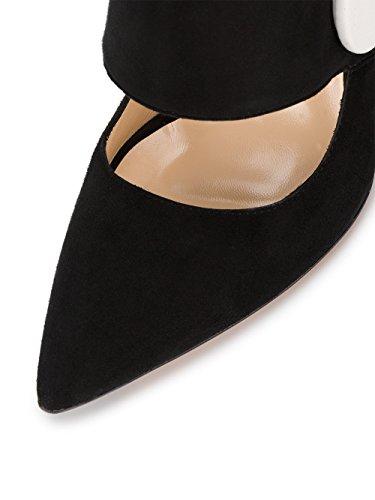 173FO0117350990 Noir Escarpins Femme JACQUEMUS Suède w5n1OUZXq