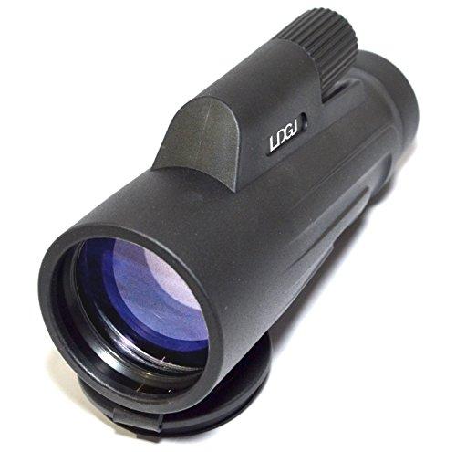 LDGJ 12X50 High Powered Monocular - Bright and Clear Range of View - Single Hand Focus - Waterproof, Fogproof -...