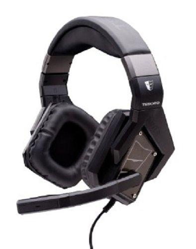 Tesoro Kuven Devil Gaming Headsets Black Color