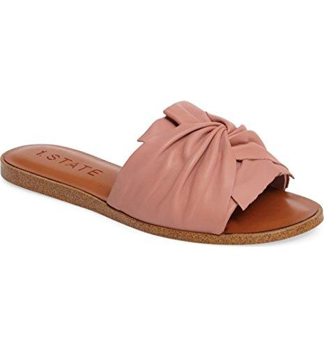 1.State Women's Chevonn Slide Sandal, Blush Nappa, 10 M US