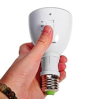 2 En Led D'urgence Ampoule Lumière E27 1 Rechargeable Multifonction nk80wPO