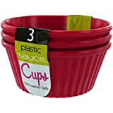 Kole Imports HB033 Plastic Dipping Sauce Cups