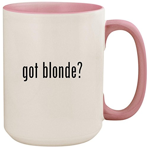 got blonde? - 15oz Ceramic Colored Inside and Handle Coffee